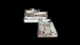 appartement C202 de type T2